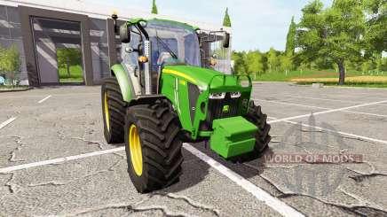John Deere 5105M v3.0 para Farming Simulator 2017