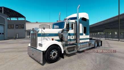 La piel de Carlyle en el camión Kenworth W900 para American Truck Simulator
