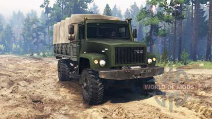 GAZ-3308 para Spin Tires
