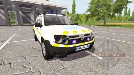 Dacia Duster SAMU para Farming Simulator 2017
