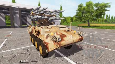 Stryker M1126 BVRAAM para Farming Simulator 2017