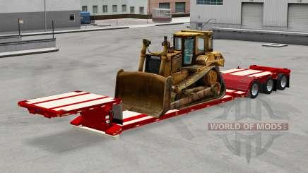 Baja de barrido con una técnica diferente para American Truck Simulator