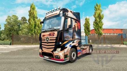 La piel Revaniko para tractor Mercedes-Benz para Euro Truck Simulator 2