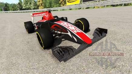 La carrera de fórmula 1 coche v2.0 para BeamNG Drive