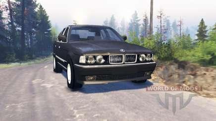 BMW 750Li (E38) v3.0 para Spin Tires