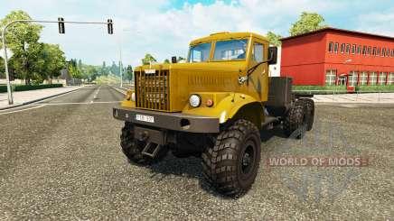 Kraz-255 para Euro Truck Simulator 2