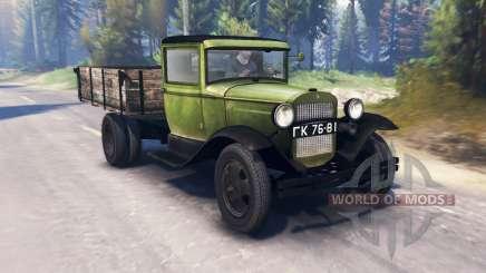 GAZ-MM 1940 v2.0 para Spin Tires