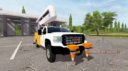 GMC Sierra 3500HD bucket para Farming Simulator 2017