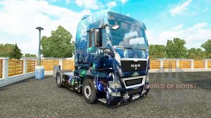 La piel Abismo Profundo en el camión MAN para Euro Truck Simulator 2