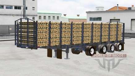 Un camión semi-remolque Manac para American Truck Simulator