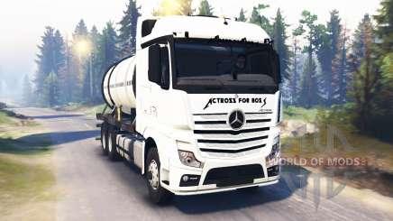 Mercedes-Benz Actros MP4 v2.0 para Spin Tires