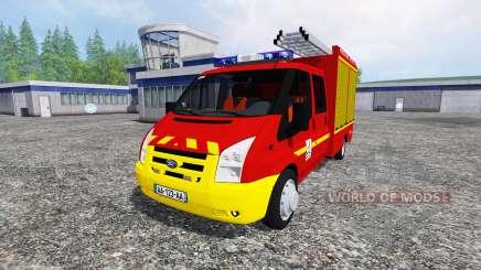 Ford Transit Double Cab VPI para Farming Simulator 2015