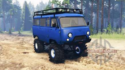 UAZ 3909 para Spin Tires
