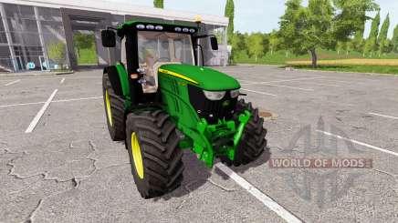 John Deere 6210R v0.9 para Farming Simulator 2017