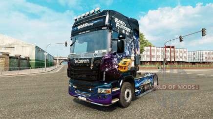 La piel Fast & Furious para Scania camión para Euro Truck Simulator 2