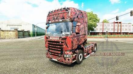 La piel Extranjero Máscara de C en el tractor Scania para Euro Truck Simulator 2