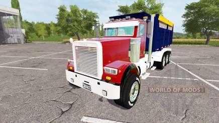 Freightliner FLD 120 dump v1.1 para Farming Simulator 2017