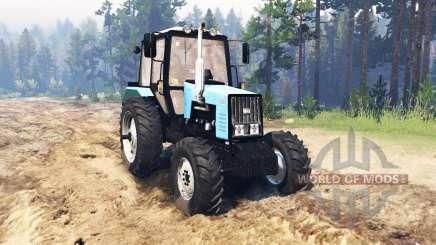 MTZ-1221.2 Bielorrusia para Spin Tires