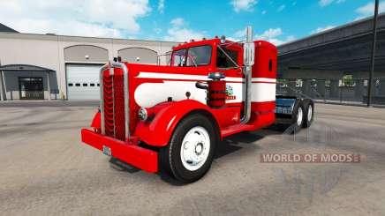 La piel Gavins Registro en el tractor Kenworth 521 para American Truck Simulator