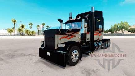 La piel de Larga Distancia para el camión Peterbilt 389 para American Truck Simulator