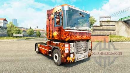 La piel de la Fantasía de la Guerra para tractor Renault para Euro Truck Simulator 2