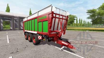 JOSKIN DRAKKAR 8600 red-green edition para Farming Simulator 2017