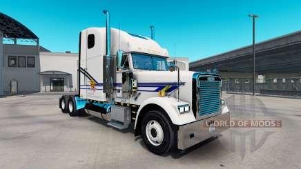 Скин Chuleta de Cerdo Express на Freightliner Classic para American Truck Simulator