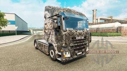 La piel Esqueleto Guerrero para camión Iveco para Euro Truck Simulator 2