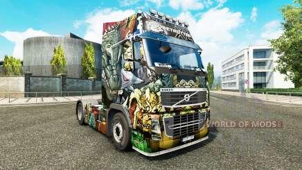 La piel de los Monstruos de Ataque en Volvo trucks para Euro Truck Simulator 2