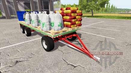 Brantner DPW 18000 service para Farming Simulator 2017