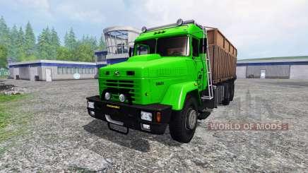 KrAZ-64431 v1.1 para Farming Simulator 2015