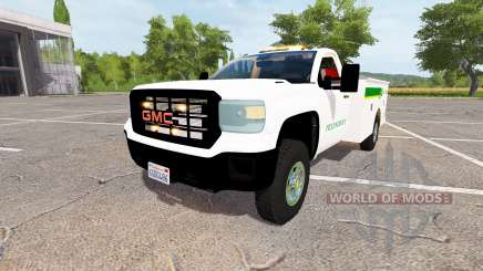 GMC Sierra 3500HD service v2.0 para Farming Simulator 2017