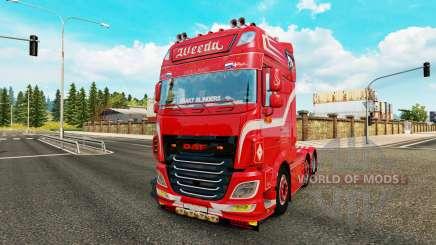 DAF XF 106.510 Weeda para Euro Truck Simulator 2