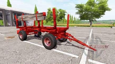 La madera remolque Krone para Farming Simulator 2017