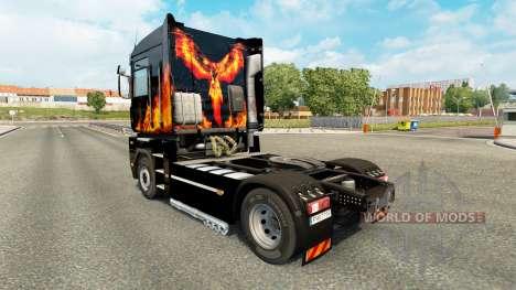 El Fénix de la piel para Renault Magnum tractora para Euro Truck Simulator 2