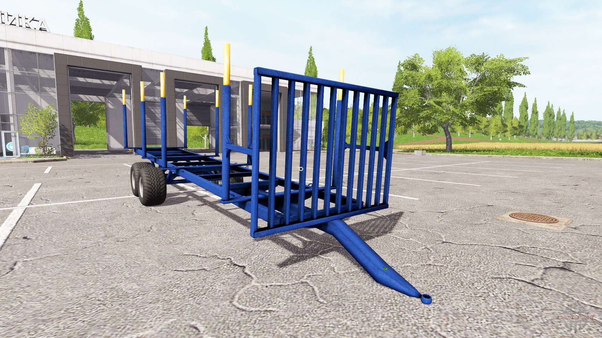 la madera remolque v1 5 para farming simulator 2017. Black Bedroom Furniture Sets. Home Design Ideas