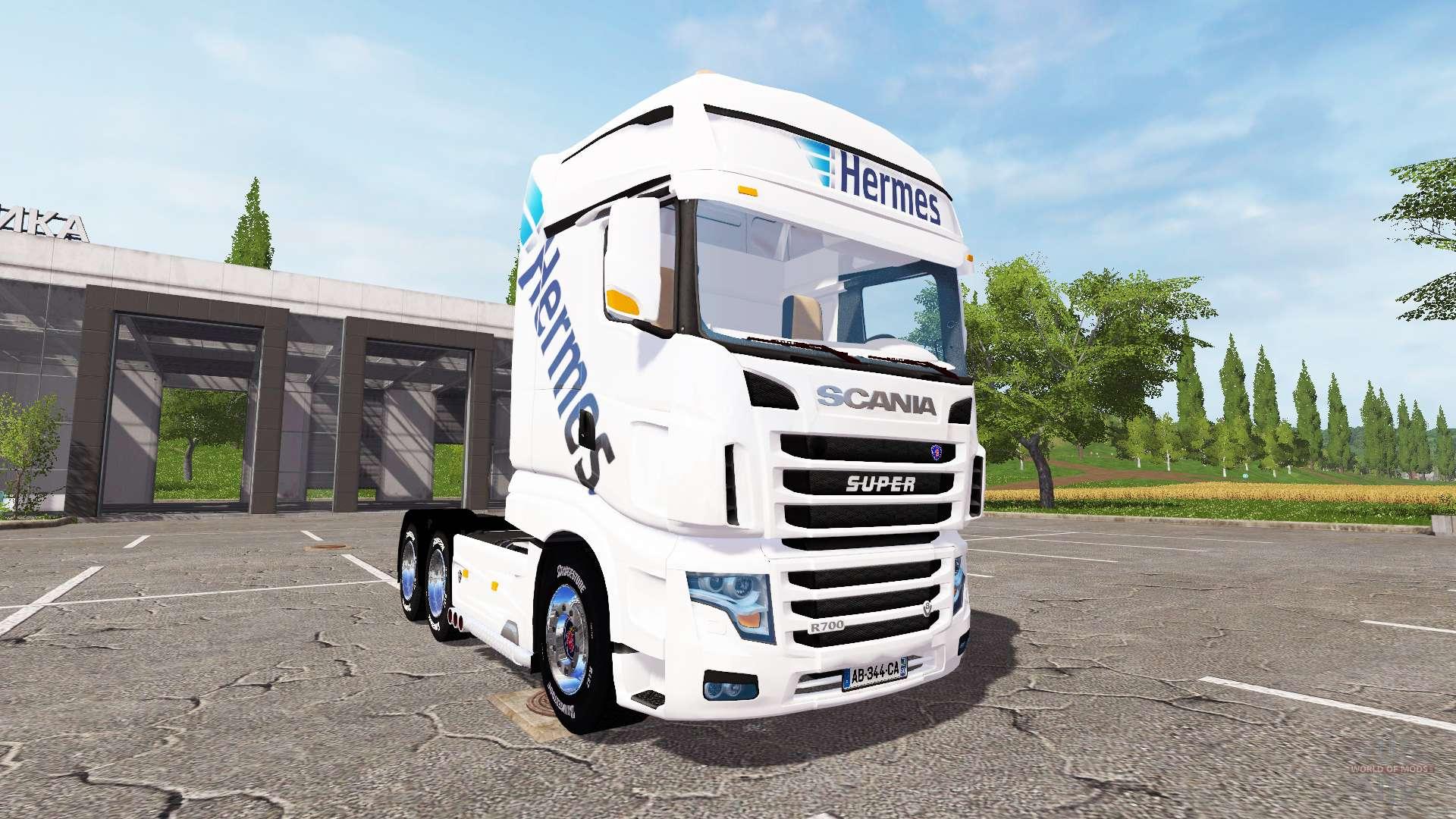 Scania R700 Evo Hermes Para Farming Simulator 2017