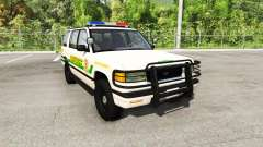 Gavril Roamer county sheriff para BeamNG Drive