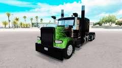 La Llama de la piel para el camión Peterbilt 389