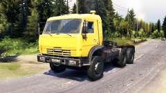 KamAZ 54115 v6.0 para Spin Tires