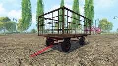 Sinofsky remolque de tractor para Farming Simulator 2015
