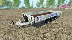 Ifor Williams TB long vehicule para Farming Simulator 2015