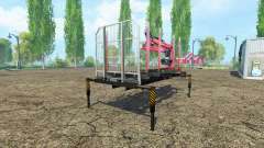 Una plataforma de madera con manipulador v1.2