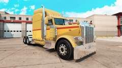 Retro de la piel para el camión Peterbilt 389
