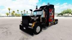 La Leyenda americana de la piel para el camión P