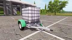 El remolque con tanque de agua para Farming Simulator 2017
