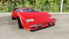 Lamborghini Countach v2.0 para BeamNG Drive
