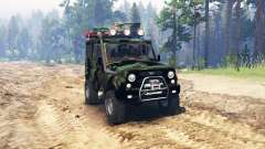 UAZ 315195 hunter turbodiesel expedición v4.0