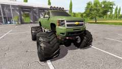 Chevrolet Silverado monster