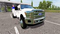 Ford F-550 2013 service para Farming Simulator 2017